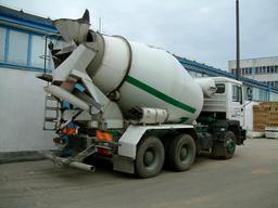 Camion malaxeur à béton. Source : http://data.abuledu.org/URI/51de480b-camion-malaxeur-a-beton