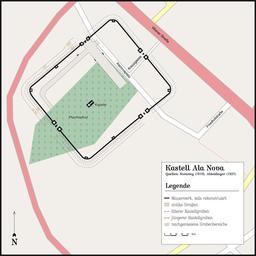 Camp romain d'Ala Nova près de Vienne. Source : http://data.abuledu.org/URI/508c7a53-camp-romain-d-ala-nova-pres-de-vienne