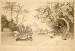 Canal de Samarang dans l'île de Java. Source : http://data.abuledu.org/URI/59818749-canal-de-samarang-dans-l-ile-de-java