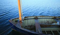 Canot à voile en bois. Source : http://data.abuledu.org/URI/55bbfb50-canot-a-voile-en-bois