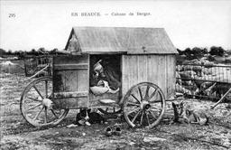Caravane de berger d'antan. Source : http://data.abuledu.org/URI/503230ad-caravane-de-berger-d-antan
