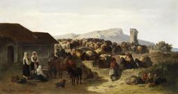 Caravane de mulets. Source : http://data.abuledu.org/URI/517e658b-caravane-de-mulets