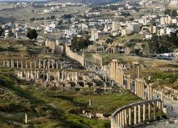 Cardo maximus de Jerash. Source : http://data.abuledu.org/URI/54b5501a-cardo-maximus-de-jerash