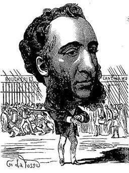 Caricature de Jules Ferry. Source : http://data.abuledu.org/URI/52147f54-caricature-de-jules-ferry