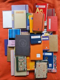Carnets et cahiers. Source : http://data.abuledu.org/URI/531c75d5-carnets-et-cahiers