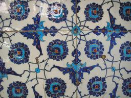 Carreaux de faïence ottomans. Source : http://data.abuledu.org/URI/5113972b-carreaux-de-faience-ottomans