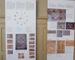 Carreaux vernissés et enduits peints à Albi. Source : http://data.abuledu.org/URI/59c1c848-carreaux-vernisses-et-enduits-peints-a-albi