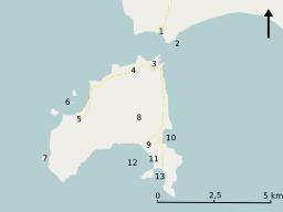 Carte d'Élafonisos. Source : http://data.abuledu.org/URI/508afc4b-carte-d-elafonisos
