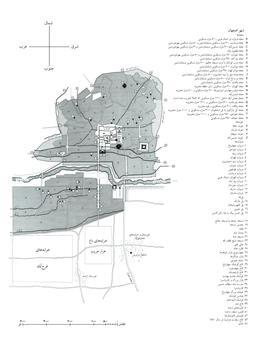 Carte d'Isfahan en 1840. Source : http://data.abuledu.org/URI/565212c3-carte-d-isfahan-en-1840