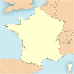 Carte de France vierge. Source : http://data.abuledu.org/URI/50b12721-carte-de-france-vierge