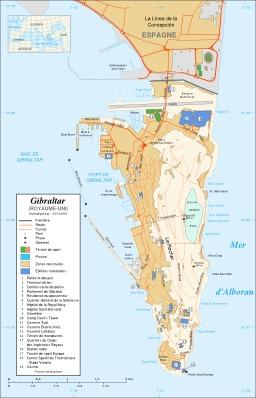 Carte de Gibraltar. Source : http://data.abuledu.org/URI/520939a8-carte-de-gibraltar