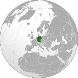 Carte de l'Allemagne. Source : http://data.abuledu.org/URI/525a7775-carte-de-l-allemagne