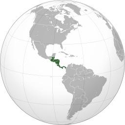 Carte de l'Amérique Centrale. Source : http://data.abuledu.org/URI/52595efb-carte-de-l-amerique-centrale