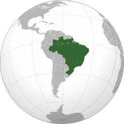 Carte de l'Amérique lusophone. Source : http://data.abuledu.org/URI/525a86f7-carte-de-l-amerique-lusophone