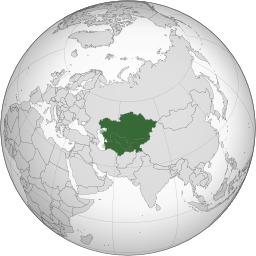 Carte de l'Asie centrale. Source : http://data.abuledu.org/URI/52595f4b-carte-de-l-asie-centrale