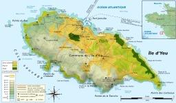 Carte de l'île d'Yeu. Source : http://data.abuledu.org/URI/508d154f-carte-de-l-ile-d-yeu