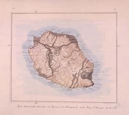 Carte de l'île de La Réunion en. Source : http://data.abuledu.org/URI/521a3802-carte-de-l-ile-de-la-reunion-en-