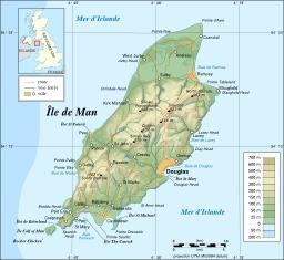 Carte de l'île de Man. Source : http://data.abuledu.org/URI/5209386f-carte-de-l-ile-de-man