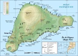 Carte de l'île de Pâques. Source : http://data.abuledu.org/URI/50e7032e-carte-de-l-ile-de-paques