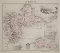 Carte de la Guadeloupe en 1865. Source : http://data.abuledu.org/URI/5296297c-carte-de-la-guadeloupe-en-1865