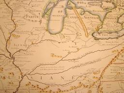 Carte de la Louisiane en 1718. Source : http://data.abuledu.org/URI/53f4d7f9-carte-de-la-louisiane-en-1718