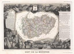 Carte de la Meurthe en 1852. Source : http://data.abuledu.org/URI/531f3b59-carte-de-la-meurthe-en-1852