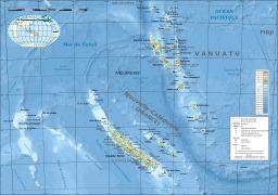 Carte de la Nouvelle Calédonie et de Vanuatu. Source : http://data.abuledu.org/URI/507886c7-carte-de-la-nouvelle-caledonie-et-de-vanuatu