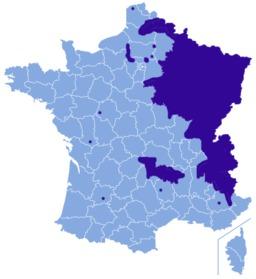 Carte de répartition de la grive litorne en France. Source : http://data.abuledu.org/URI/5172aa90-carte-de-repartition-de-la-grive-litorne-en-france