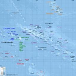 Carte des îles polynésiennes. Source : http://data.abuledu.org/URI/5078852e-carte-des-iles-polynesiennes