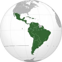 Carte des pays d'Amérique latine. Source : http://data.abuledu.org/URI/525a7ced-carte-des-pays-d-amerique-latine