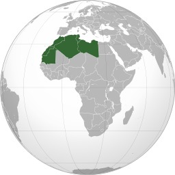 Carte des pays du Maghreb. Source : http://data.abuledu.org/URI/525a87c2-carte-des-pays-du-maghreb
