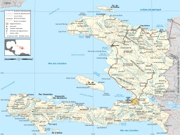 Carte des routes à Haïti. Source : http://data.abuledu.org/URI/50e77457-carte-des-routes-a-haiti