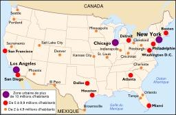 Carte des villes américaines importantes. Source : http://data.abuledu.org/URI/548d832a-carte-des-villes-americaines-importantes