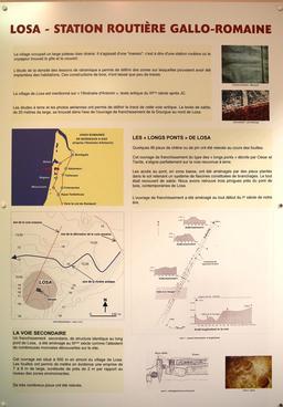 Carte des voies romaines dans les Landes. Source : http://data.abuledu.org/URI/5562021d-carte-des-voies-romaines-dans-les-landes