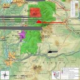 Carte des zones protégées de la Chaîne des Cascades. Source : http://data.abuledu.org/URI/5093d588-carte-des-zones-protegees-de-la-chaine-des-cascades