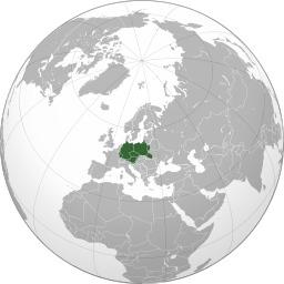 Carte du 3ème Reich. Source : http://data.abuledu.org/URI/525a90a0-carte-du-3eme-reich