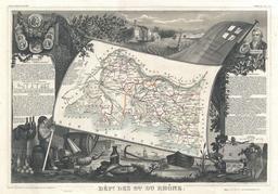 Carte du département des Bouches-du-Rhône en 1852. Source : http://data.abuledu.org/URI/531caf16-carte-du-departement-des-bouches-du-rhone-en-1852