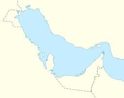 Carte du Golfe Persique non légendée. Source : http://data.abuledu.org/URI/541d83eb-carte-du-golfe-persique-non-legendee