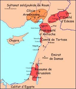 Carte du Levant en 1102. Source : http://data.abuledu.org/URI/51f2feaf-carte-du-levant-en-1102
