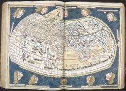 Carte du monde de Ptolémée. Source : http://data.abuledu.org/URI/505f6367-carte-du-monde-de-ptolemee