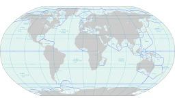 Carte du monde des mers et des océans. Source : http://data.abuledu.org/URI/56c324c5-carte-du-monde-des-mers-et-des-oceans