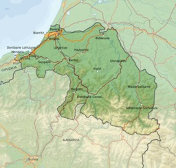 Carte du Pays Basque français légendée en basque. Source : http://data.abuledu.org/URI/527fefb4-carte-du-pays-basque-francais-legendee-en-basque