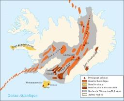 Carte du système volcanique de l'Islande. Source : http://data.abuledu.org/URI/50957c19-carte-du-systeme-volcanique-de-l-islande