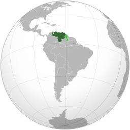 Carte du Vénézuéla. Source : http://data.abuledu.org/URI/525a91e2-carte-du-venezuela