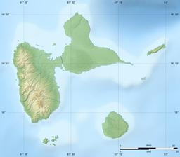 Carte en relief du département de la Guadeloupe. Source : http://data.abuledu.org/URI/5295ccd6-carte-en-relief-du-departement-de-la-guadeloupe