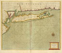 Carte marine du littoral new-yorkais. Source : http://data.abuledu.org/URI/50e75104-carte-marine-du-littoral-new-yorkais