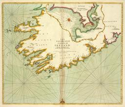 Carte marine du XVIIIème siècle. Source : http://data.abuledu.org/URI/50e72b72-carte-marine-du-xviiieme-siecle
