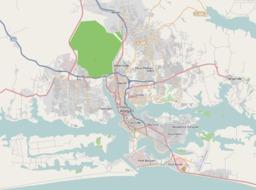 Carte ouverte d'Abidjan. Source : http://data.abuledu.org/URI/508af779-carte-ouverte-d-abidjan