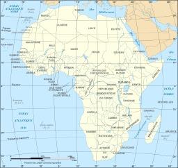 Carte politique de l'Afrique. Source : http://data.abuledu.org/URI/51ca2594-carte-politique-de-l-afrique