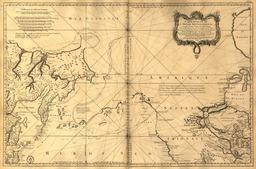 Carte réduite de l'océan septentrional. Source : http://data.abuledu.org/URI/521beb43-carte-reduite-de-l-ocean-septentrional
